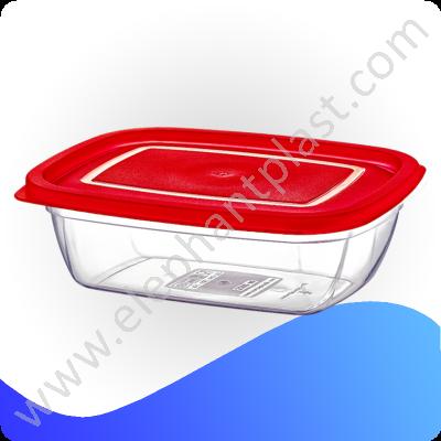 Контейнер пищевой прямоугольный низкий СВЧ 2,2 л 30094