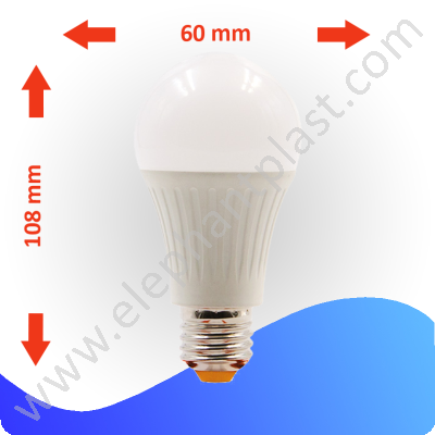 Светодиодная лампа GLOBUS-V2/А60/13.2W/E27/6400K 1512412