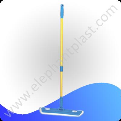Швабра для пола плоская насадка микрофибра 40 см NFD06