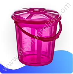 Ведро для воды «Стиль» прозрачное 5 л 09111
