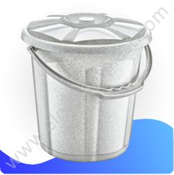 Ведро для воды «Стиль» с крышкой 10 л 09103