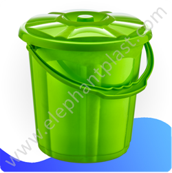 Ведро для воды «Стиль» с крышкой 15 л 09104