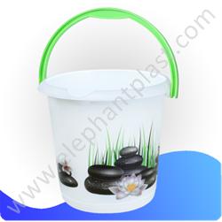 Ведро для воды с рисунком 10 л 279