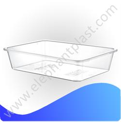 Лоток пищевой прозрачный 7 л PE110