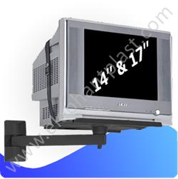Настенная подставка под телевизор черна 402