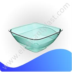 Салатница квадратная прозрачная 0,5 л AP9207