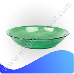Тарелка круглая кристальная 19 см AP9218