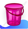 Ведро для воды «Стиль» прозрачное 5 л 09131