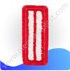 Насадка для плоской швабры из микрофибры 40 см TP864